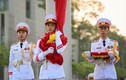 Lễ thượng cờ mừng Quốc khánh ở Lăng Chủ tịch Hồ Chí Minh