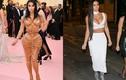 """Những lần Kim Kardashian ăn mặc hở bạo """"đốt cháy"""" thảm đỏ"""