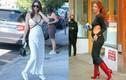 Thời trang bầu cực sexy của người mẫu áo tắm Emily Ratajkowski