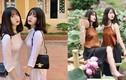 Chị em song sinh ở Yên Bái gây sốt với gu thời trang đồng điệu