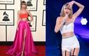 """""""Nhức mắt"""" trang phục khoe eo thon của nữ ca sĩ Taylor Swift"""