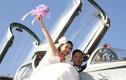 Dân mạng TQ sốt ảnh đám cưới của bộ đội không quân