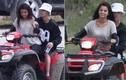 Justin Bieber và Selena Gomez quấn chặt lấy nhau