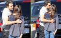 Vợ chồng Ben Afleck – Jennifer Garner hôn nhau ở chợ