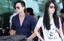 Kim Lý ga lăng với Trương Ngọc Ánh ở sân bay