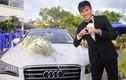 Công Vinh đón dâu bằng dàn xe bạc tỷ