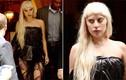 Lady Gaga mặc váy làm bằng túi rác