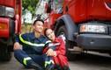 Ảnh cưới siêu độc của cặp lính cứu hỏa Quảng Trị