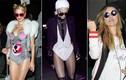 Chán kinh dị, sao Hollywood hóa trang thành sao trong lễ Halloween