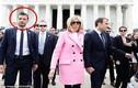 Video: Chàng vệ sỹ đẹp không góc chết của Tổng thống Pháp