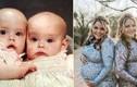 Trùng hợp bất ngờ 2 bà mẹ sinh đôi sinh con giống hệt nhau