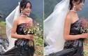 Chuyện lạ hôm nay: Cô dâu mặc túi rác đen trong đám cưới và...