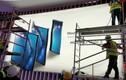 Smartphone màn hình gập Huawei Mate X lộ ảnh banner trước thềm ra mắt