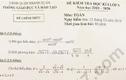Thanh tra quy trình ra đề môn Toán khiến học sinh lớp 9 ở Hà Nội phải thi lại