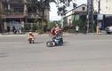 Đại úy CSGT ở Quảng Trị bị 2 thanh niên đi xe máy tông gãy chân