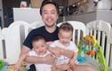 Dương Khắc Linh hào hứng khoe ảnh cùng hai con trai và cái kết