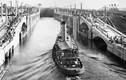 Ảnh đáng kinh ngạc về việc xây dựng kênh đào Panama