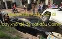 Video: Land Cruiser Prado mất lái bay khỏi đê đè nát đầu Camry