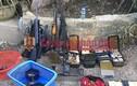 """Cận cảnh bên trong """"sào huyệt"""" của trùm ma túy ở Lóng Luông"""