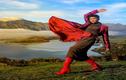 Hoa hậu H'hen Niê tạo dáng giữa trời New Zealand hùng vĩ