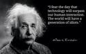 Giật mình thiên tài Einstein tiên tri cực sốc về tương lai nhân loại