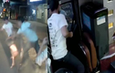 Clip 2 kẻ giang hồ chặn ô tô khách, đánh lơ xe ở Đồng Nai