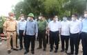 Bí thư, Chủ tịch Hà Nội thị sát các chốt kiểm dịch mới