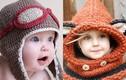 Những kiểu mũ len cực chất cho bé ngày lạnh