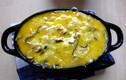 Biến tấu món ngon từ trứng với rau cho ngày mưa sụt sùi