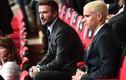 Cha con Beckham nổi bật ở dàn khách VIP dự khán trận Anh gặp Đức