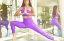 Bị soi bụng mỡ, Hồ Ngọc Hà 'dằn mặt' bằng loạt hình yoga với Leon