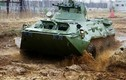 """""""Đột nhập"""" nhà máy lắp ráp """"taxi chiến trường"""" BTR-82A Nga"""