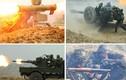 """Lực lượng vũ trang Ukraine ráo riết tập trận """"phòng"""" Nga"""