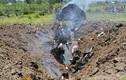Kinh hoàng hiện trường chiếc MiG-21 Ấn Độ gặp nạn