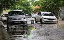 Ám ảnh đường phố thành sông khi mưa trong KĐT Đông Nam Trần Duy Hưng