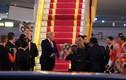 Toàn cảnh Lễ đón Tổng thống Donald Trump tại sân bay Nội Bài