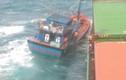 Liên lạc tàu nước ngoài cứu thành công 6 ngư dân