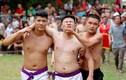 Video: Tranh chấp rách cằm, đổ máu tại Lễ hội vật cầu làng Thúy Lĩnh