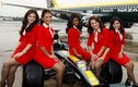 Vẻ đẹp thiên thần của dàn tiếp viên hàng không Air Asia