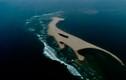 """Dịch chuyển """"dị"""" của cồn cát kỳ lạ nổi giữa biển Quảng Nam"""