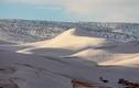 Quái đản nơi nóng nhất thế giới chìm trong... băng tuyết