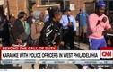 Bất ngờ cảnh sát Mỹ hát karaoke và khiêu vũ