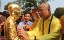 Cung thỉnh tượng Phật hoàng tại Thiền viện Trúc Lâm Bạch Mã