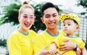 Vợ chồng Khánh Thi mang con trai đi chạy bộ từ thiện