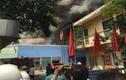 Hà Nội: Lửa cháy dữ dội công ty trên đường Trường Chinh