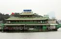 Chùm ảnh: Nhiều thuyền nổi chậm trễ di chuyển khỏi Hồ Tây