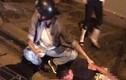 Nam thanh niên bị chém kinh hoàng giữa phố Hà Nội sau TNGT
