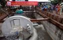 Siêu máy bơm trên đường Nguyễn Hữu Cảnh tạm dừng hoạt động