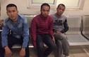 Ba thanh niên vi phạm giao thông, kiểm tra phát hiện ma túy
