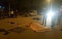 Xe máy nát bét đầu sau va chạm với taxi, một người chết